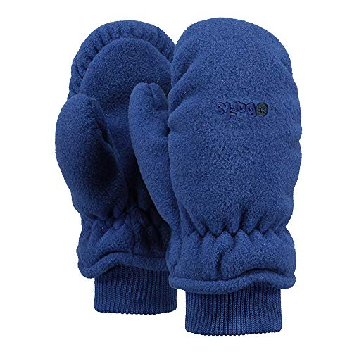 Barts Fleece Mitts Kids Jungen Handschuhe, Blau (Blau), Gr. 3 (4-6 Jahre)