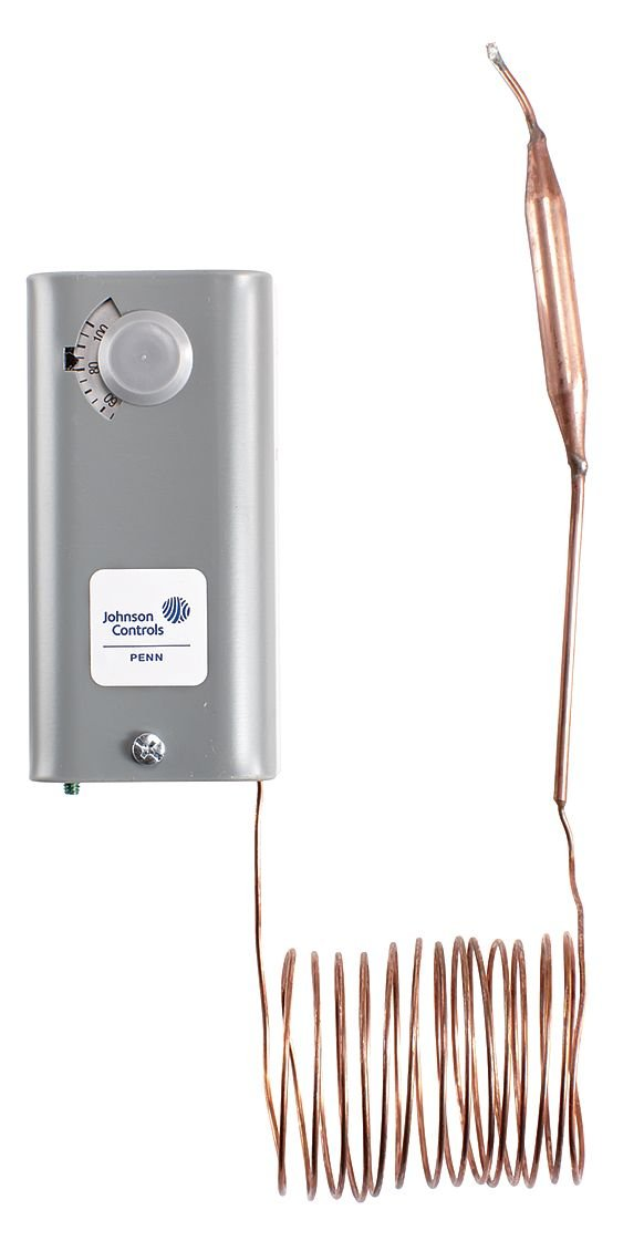 Johnson Controls A19ABA-40CQ Boston Mall Line Brand Cheap Sale Venue Mechanical Volt Thermostat 12