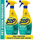 Zep Pet Stain and Odor Remover ZUPETODR (pack of 2) Formulated for Urine