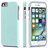 CellEver Compatible with iPhone 6 / 6s Case, Dual Guard Protective Shock-Absorbing Scratch-Resistant Rugged Drop Protection Cover Designed for iPhone 6 / 6S (Mint)
