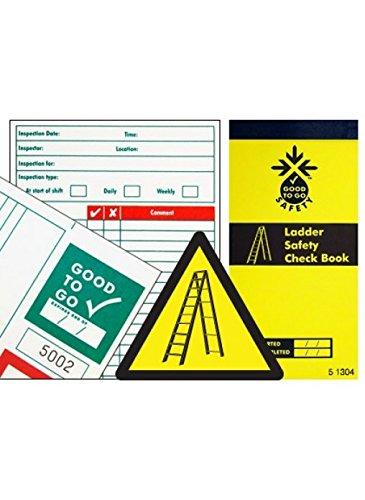 Good to Go Safety 51304, testboek voor ladders