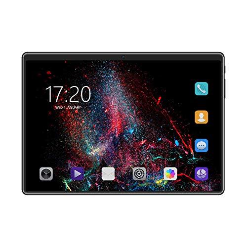 Gaoominy Tableta de 10.1 Pulgadas MTK6592 1G + 16G 8 NúCleos 1280X800 IPS Tarjeta Dual WiFi + Tableta para Estudiantes, Ni?Os y Ancianos (Enchufe de la UE)