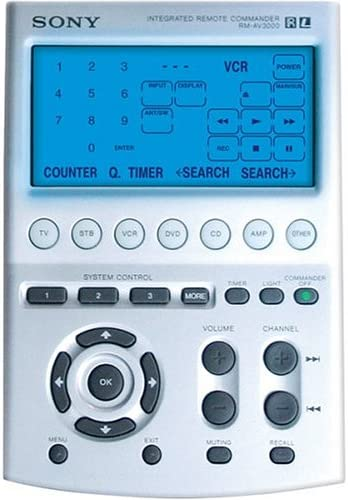 Sony Challenge the lowest price RM-AV3000 Ranking TOP9 Universal Remote Control LCD with Scree Touch-key