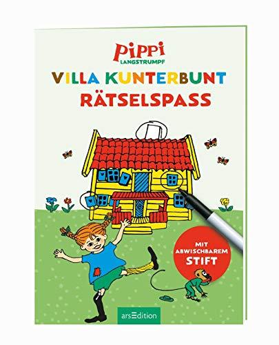Pippi Langstrumpf: Pippi Langstrumpf - Villa Kunterbunt Rätselspaß