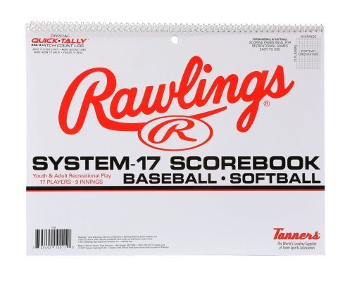 Rawlings System 17 Baseball/Softball Scorebook by Rawlings