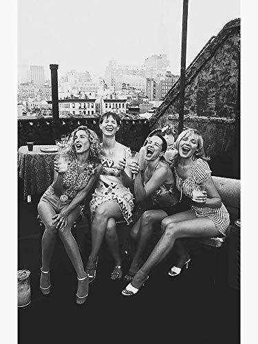 Pearl Shine Sex and The City The Girls Carrie-Bradshaw Samantha-Jones Charlotte-York-Goldenblatt Movie Unframed Wall Art Gifts (16x24)