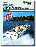UB770 Used Clymer Volvo 1968-1993 Stern Drive Boat Engine Repair Manual