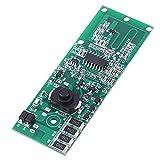 Inducción de radar de microondas con interruptor, módulo controlador de lámpara solar flexible automáticamente para uso industrial