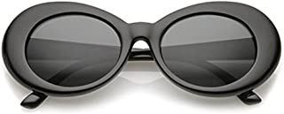 Aigemi 2018 Unisex Bold Retro Oval Classic Sunglasses Clout Goggles
