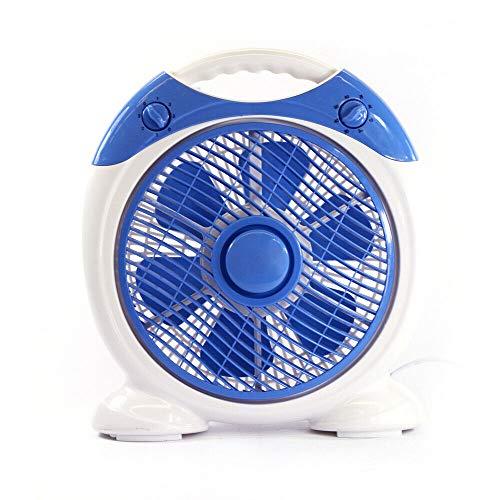 KENEX Ventilador de sobremesa portátil. 35W. 6 Aspas, con Temporizador. 25,5 cms. 10''
