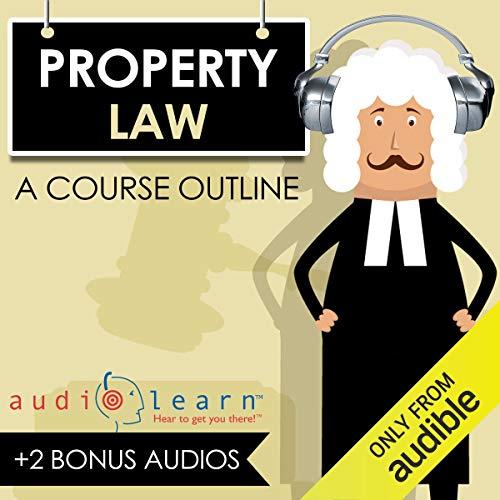 Couverture de Property Law AudioLearn