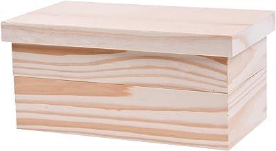 山下工芸(Yamashita kogei) 弁当箱 ナチュラル W21×D11×H5.1cm 日本製 エコ 長角 2段 弁当箱 32848