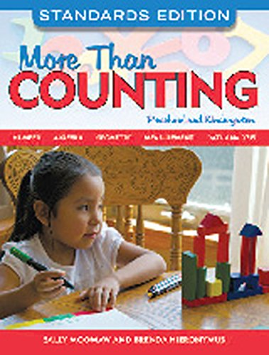 Compare Textbook Prices for More Than Counting: Math Activities for Preschool and Kindergarten, Standards Edition NONE NONE, Standards Edition ISBN 9781605540290 by Moomaw, Sally,Hieronymus, Brenda