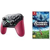 Xenoblade Chronicles 2 Controller & Xenoblade Chronicles: Definitive Edition Nintendo Switch Gaming Bundle