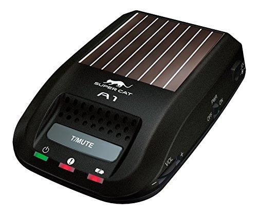 ユピテル レーダー探知機 A1 ソーラータイプ コンパクト設計