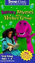 Barney Rhymes With Mother Goose VHS