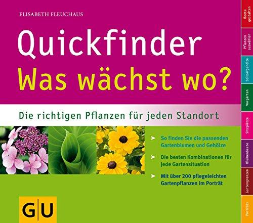 Quickfinder Was wächst wo?...