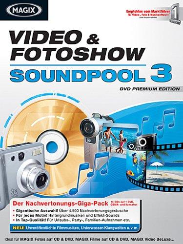 MAGIX Video&Fotoshow Soundpool DVD 3
