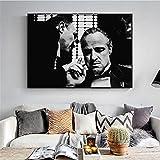 Rjjwai Pate Poster Marlon Brando Print Schwarz-Weiß-Filme