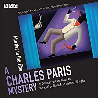 Charles Paris: Murder in the Title cover art