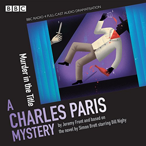 Charles Paris: Murder in the Title audiobook cover art