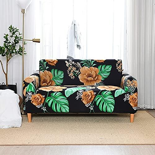 ASCV Funda de sofá Impermeable Funda de sofá elástica Funda de sofá Funda de sofá Impresa A9 1 Plaza