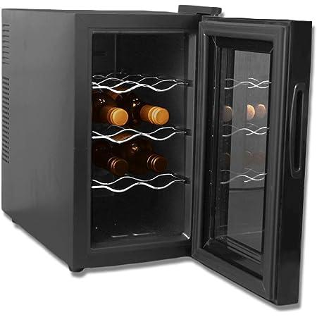 アイリスオーヤマ ワインセラー 8本収納 25L 8~18℃ ペルチェ式 庫内LED 小型 メーカー1年保証 PWC-251P-B