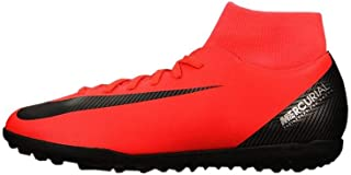 Nike - JR Superfly 6 Club CR7 TF - AJ3088600 - Color: Red - Size: 5.5 Big Kid
