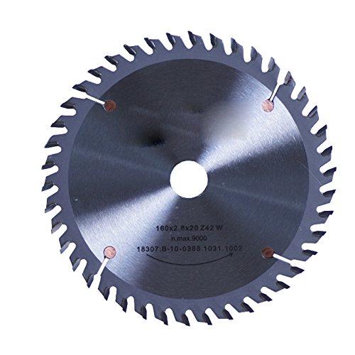 Connex COM361907 handcirkelzaagblad, hard metaal, fijne tand-precisie-uitvoering, 190 x 30/20/16 mm, 52 tanden