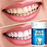 LtrottedJ Toothpaste Whitening Teeth Care Remove Halitosis Plaque Dentifrice Cleaning Powd