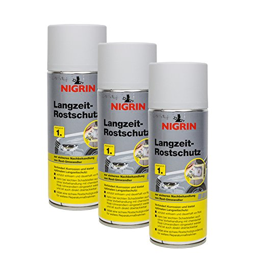 NIGRIN 3X 74118 Langzeit-Rostschutz 400 ml