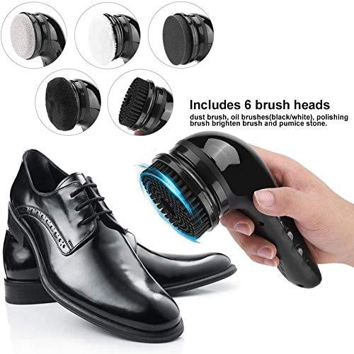 USB Elektrische Schoenborstel Oplaadbare Handheld Multifunctionele Leren Schoenen Tas Sofa Polijstmachine Reinigingsset Heren Dames