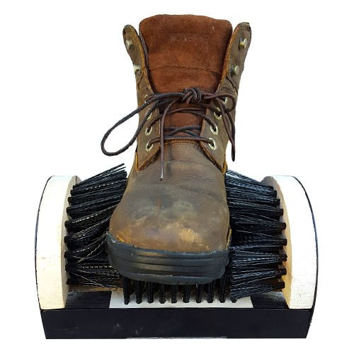 Kole Imports Shoe Boot Floor Mount Scraper