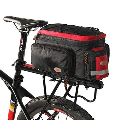 ZHTY Bike Rack Bag Waterproof Portable Terylene Bicycle Bag Cycling Outdoor Exercise