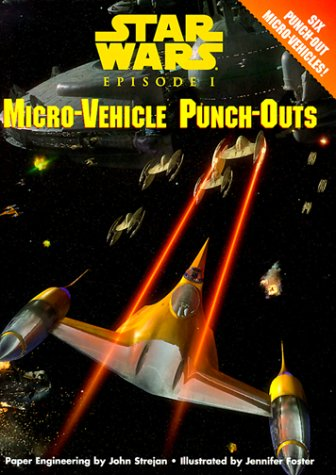 Micro-vehicle Punch-outs (Punch & Play: Star Wars Episode I)