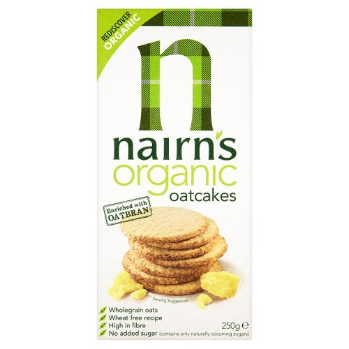 Nairns Organic Oatcakes 250 g (Pack of 6)
