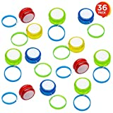 ArtCreativity Mini Plastic Yo-Yo Set - Pack of 36 - Fun Hand Yo Yos for Kids - Assorted Colors - Big Hit Party Favor - Amazing Gift Idea for Boys and Girls Ages 3+