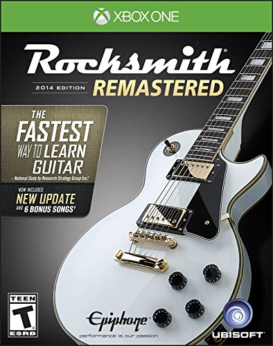 Rocksmith, edición 2014 remasterizada; Xbox One, edición estándar – Remastered + Cable Edition