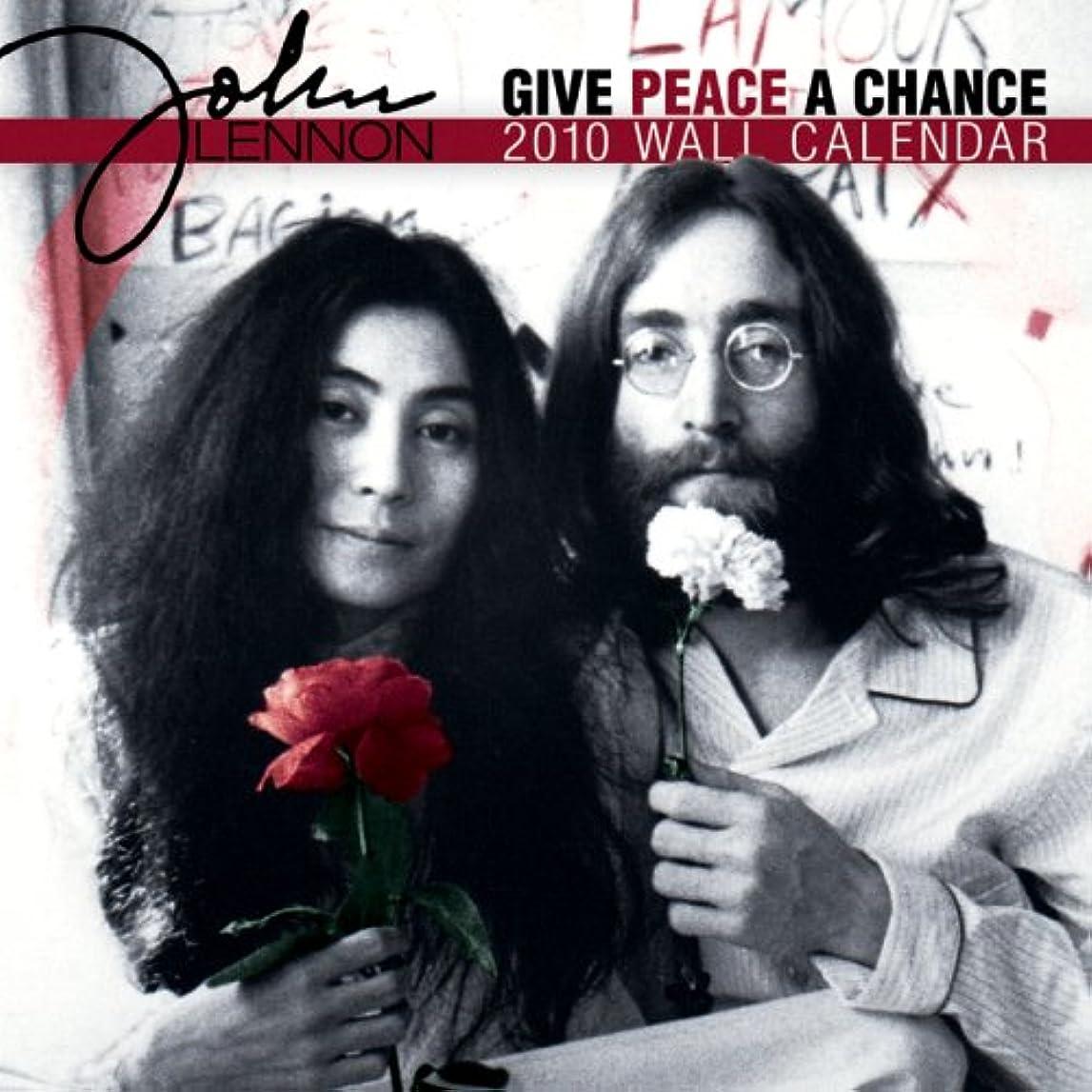 悪名高い肌浪費John Lennon 2010 Calendar