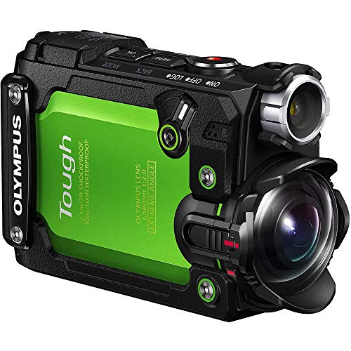 Olympus Stylus TG-Tracker 4K Action Cam Water/Shock/Freeze-proof Green (V104180EU000) - (Renewed)