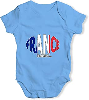 TWISTED ENVY Baby Boy Clothes France Rugby Ball Flag