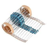 電子モジュール 1W 62R金属皮膜抵抗器、1%62オーム抵抗50個 電子製品