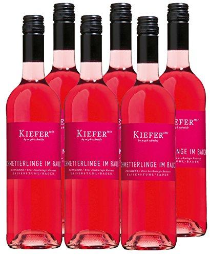 Schmetterlinge im Bauch - Kiefer - rosé - feinherb - 12,4%vol. - 6er Paket