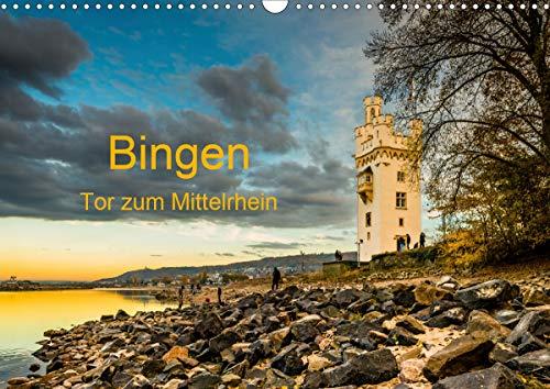 Bingen - Tor zum Mittelrhein (Wandkalender 2021 DIN A3 quer)