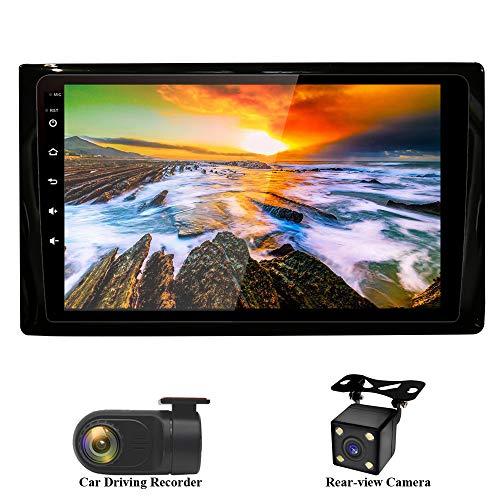 XISEDO 9 Pouces Android 7.1 RAM 2G ROM 32G in-Dash Autoradio Voiture Radio à Écran Tactile Car Radio Système de Navigation GPS pour Volkswagen Beetle 2012-2018 (avec Caméra de Recul et DVR)