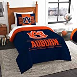Auburn Tigers Twin Comforter and Sham Set, Twin