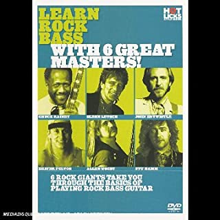 Hot Licks - Learn Rock Bass With 6 Great Masters! [DVD]