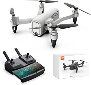 HR Drone with 1080p Camera,Foldable Drones for Kids and Adults,Quadcopter Helicopter for Beginner with Altitude Hold,Follow Me,Carrying Case,RC Toys Gifts for Boys Girls and Adults (Gray)