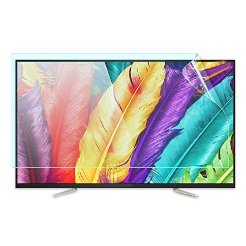WLWLEO Protector de Pantalla de TV Película Mate Pantallas de 46 a 50' Filtro de luz Azul Anti Película Protectora Ultra Clara Apto para Sharp/Sony/Samsung/Hisense/LG Etc,49' 1075×604mm