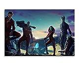 Guardians of the Galaxy Movie Wandbild 120x80cm XXL Bilder